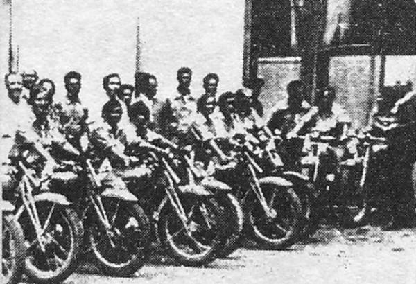 мотопробег 1936