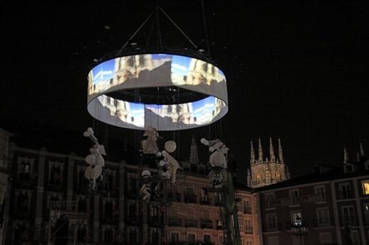 Aerial ballet, La Noche Blanca, Burgos