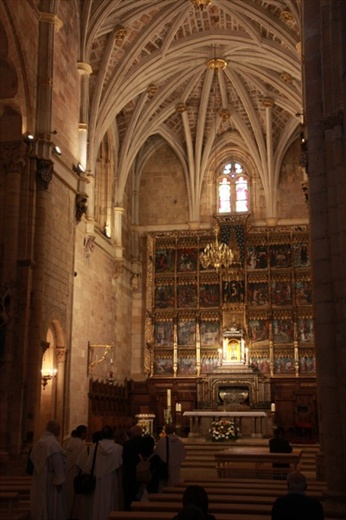 Interior San Isidoro, Leon