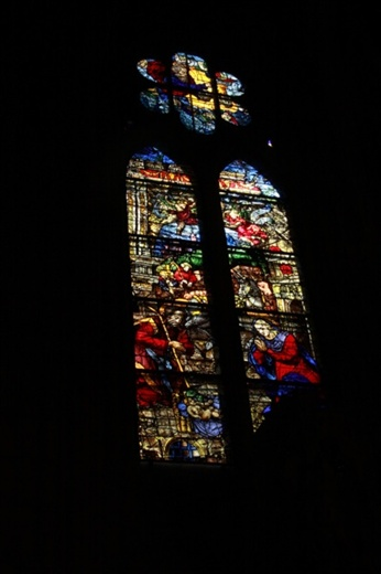 Stained glass, Leon Cathedral