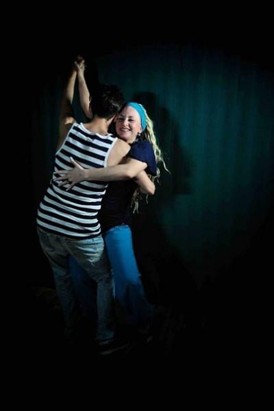 Ленка трусики танцевать