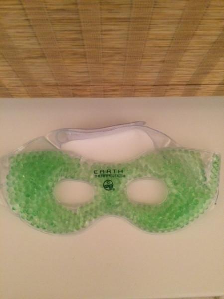 маска для усталых глаз