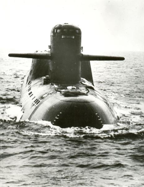 сменный экипаж подводной лодки