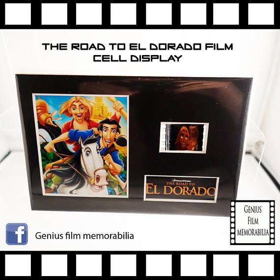 'Road to El Dorado' film cell display.jpg