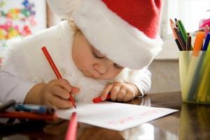 Мальчик Коля пишет письмо Зюзе Минскому