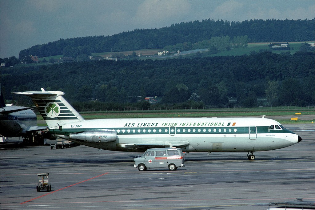 Aer_Lingus_BAC_1-11_at_Zurich_-_July_1975