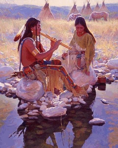 Песня про настоящего индейца скачать