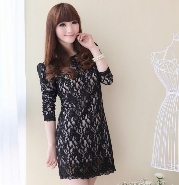 Нежные и романтичные кружевные платья